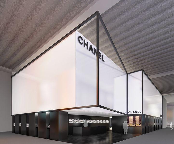 Chanel stand at the Baselworld fair by Peter Marino _  Plus de découvertes sur Le Blog des Tendances.fr #tendance #packaging #blogueur