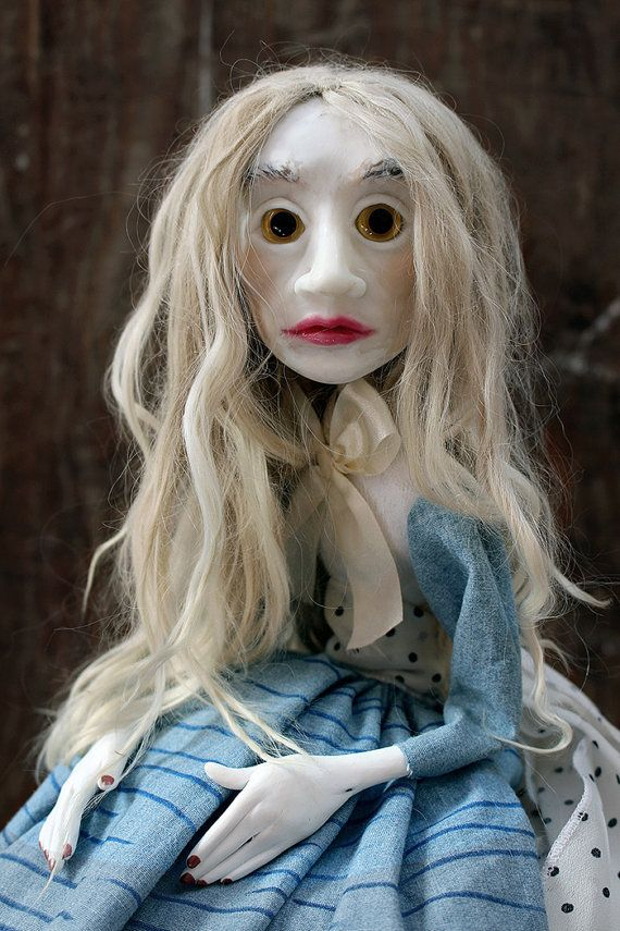Silence doll by lalkoduch on Etsy