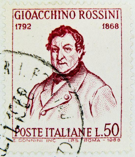 stamps Italy 50 Lire timbre Italie postage poste italiane Gioacchino Rossini 1792 selo sello Italia francobolli почтовая марка Италия pullar İtalya 邮票 义大利 Briefmarken Italien   Flickr - Photo Sharing!