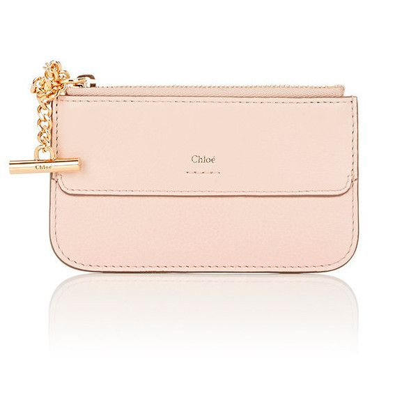 Chloé Women's Joe Coin Purse (6.579.390 VND) ❤ liked on Polyvore featuring bags, wallets, pink, zip wallet, pink wallet, chloe wallet, zipper coin purse and zippered coin pouch