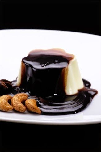 Agnese Italian Recipes: Italian Panna cotta with chocolate and espresso recipe