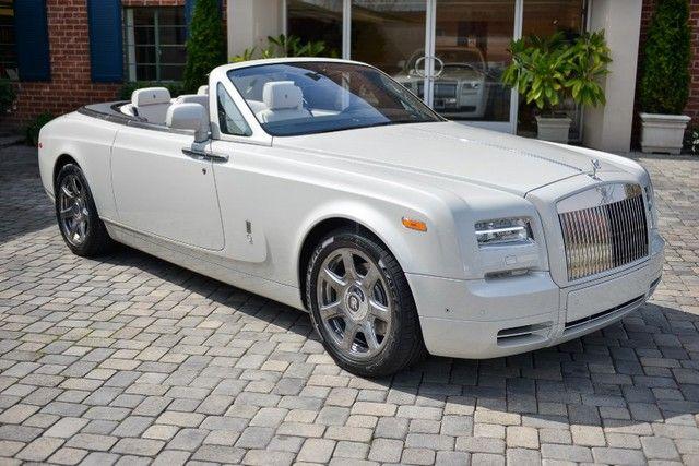 2014 Rolls-Royce Phantom Drophead Coupe Convertible Automatic 6.75L DOHC V12 48v DI Engine Carrara White - O'Gara Coach