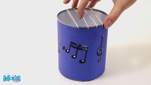 Activités - Une guitare en boîte de conserve
