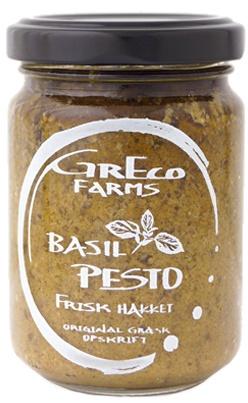 Basil Pesto - original greek recipe. Seen at www.hverdagsdeluxe.dk