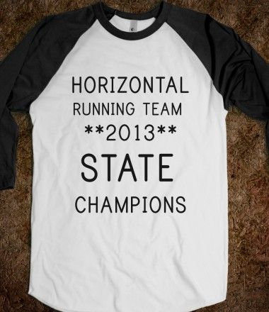 HORIZONTAL RUNNING TEAM (BASEBALL TEE)
