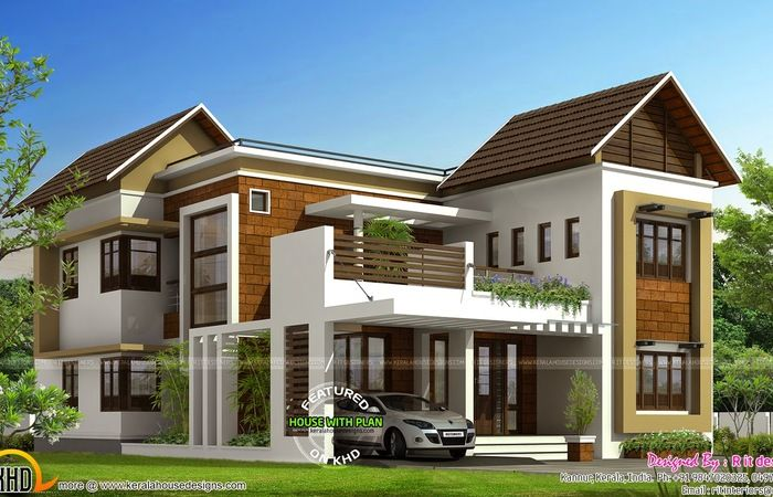 Individual House Elevation In Chennai The Best Wallpaper Drawings Ranch Elevations Moder Contemporary House Plans House Balcony Design Small Modern House Plans