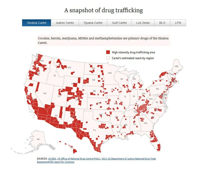 drug cartels and the united states Mexican drug cartels are increasing their profits by exporting more heroin to the united states, the associated press reports they are refining opium paste into high-grade white heroin, and using distribution routes they built for cocaine and marijuana the mexican opium trade is now worth many.