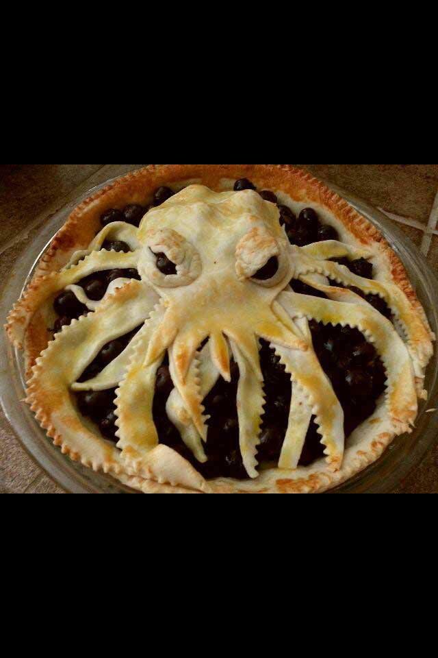 Octopus pie !