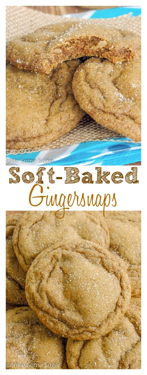 Soft-Baked Gingersnaps