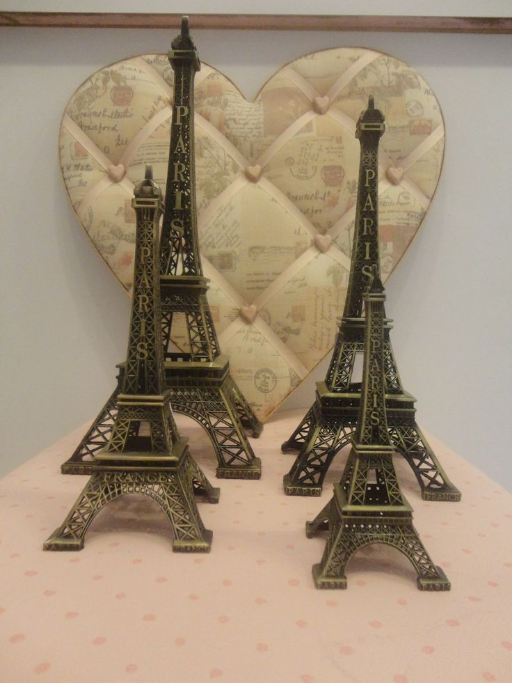 torre eiffel miniatura metal - paris 25 cm