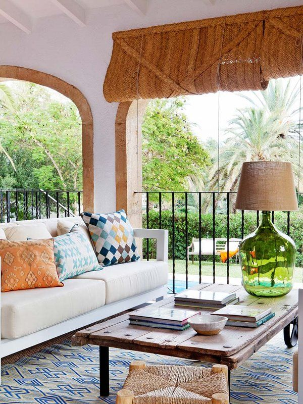 Las 25 mejores ideas sobre cortinas de porche en - Cortinas para porche exterior ...