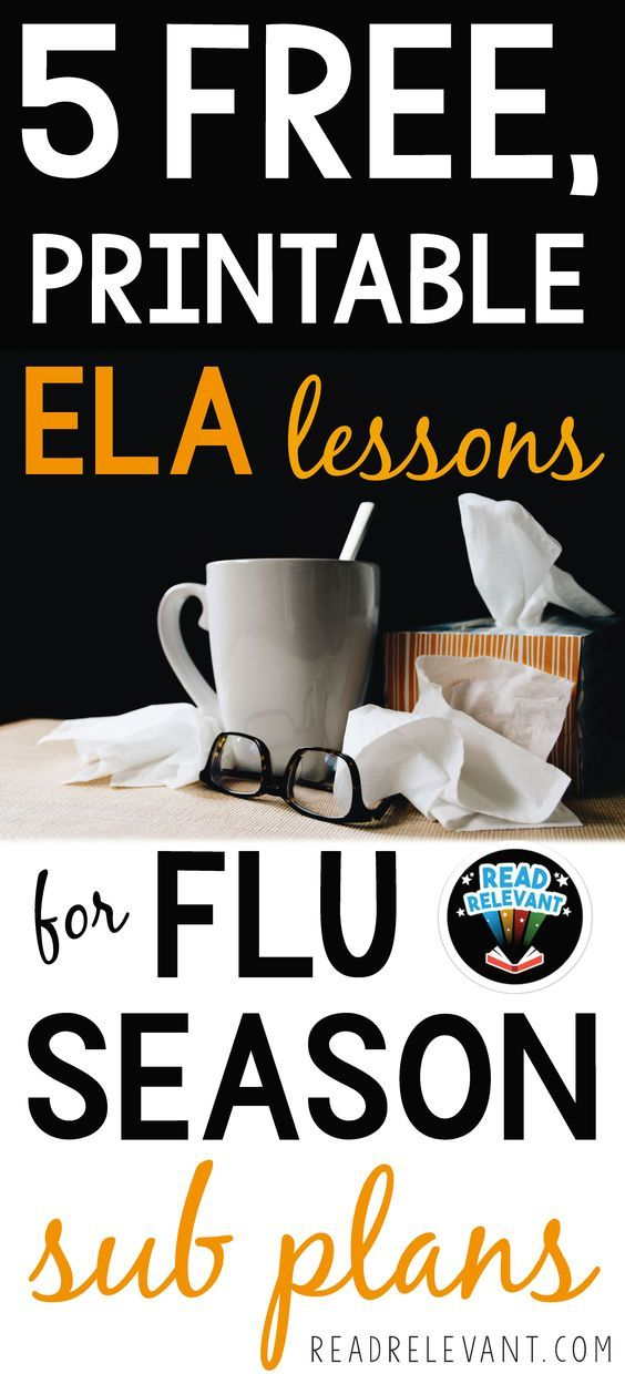 Under the weather? If you're a middle school ELA teacher, you need to know about these free, printable, no-prep resources that are perfect for sub plans when you're in need of a sick day.