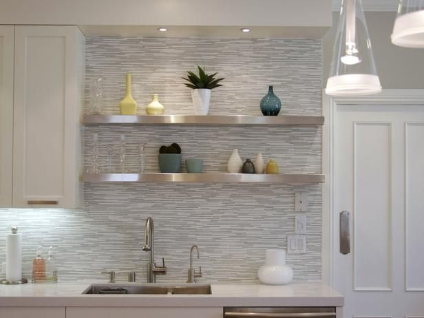 Love the tile!Contemporary Kitchens from Amy Bubier : Designers' Portfolio 2400 : Home & Garden Television