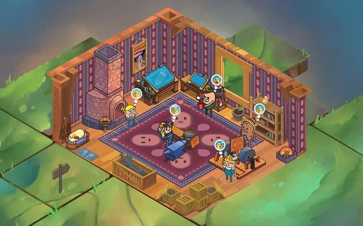 We have just completed the wallpaper & carpet decor system in #HolyPotatoes! #screenshotsaturday #indiegame  https://twitter.com/holypotatogame/status/533850985048080384
