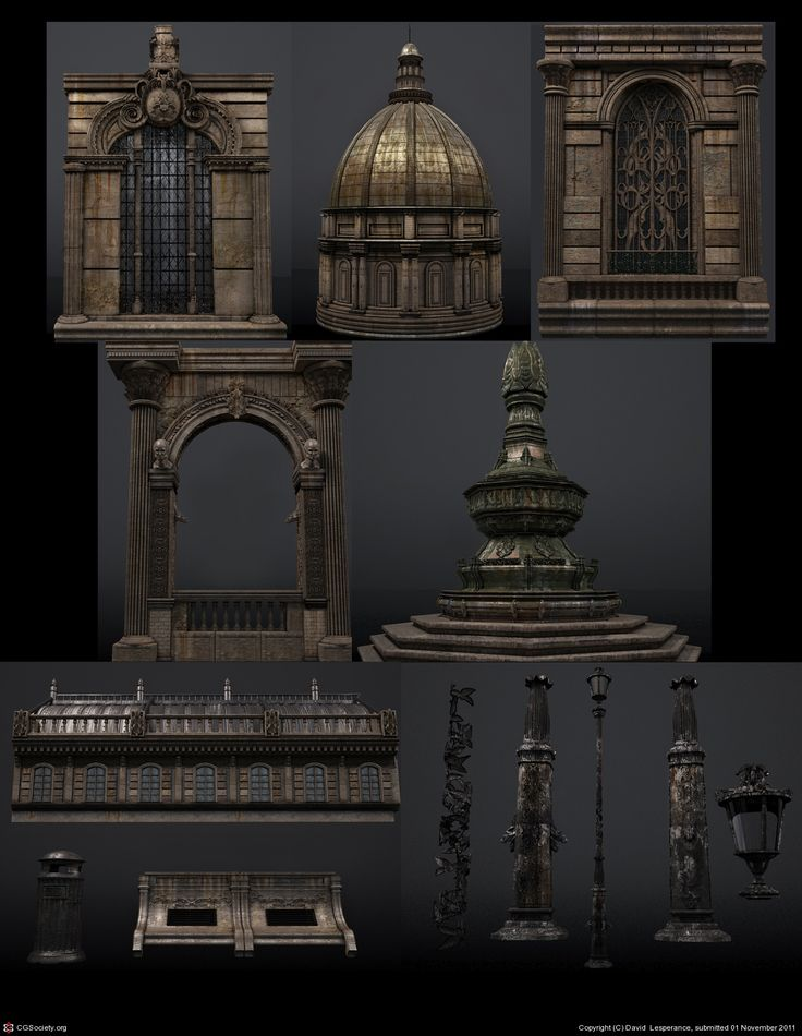 Details by David Lesperance | 3D | CGSociety