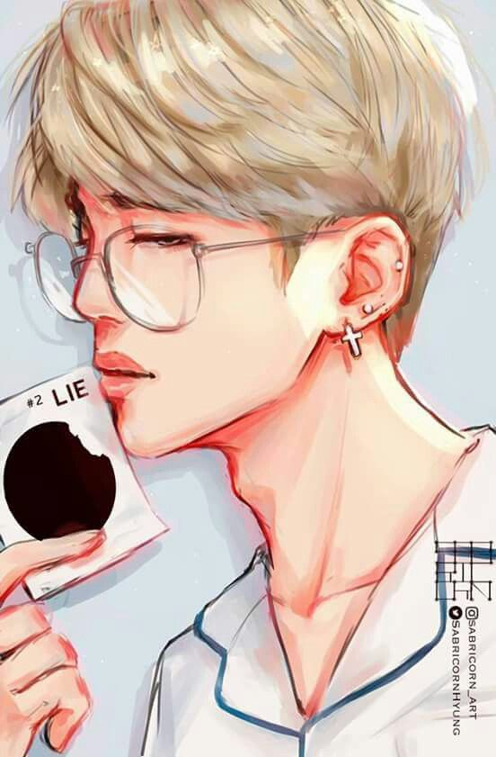 Fan art jimin BTS