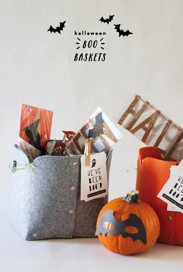 BOO Baskets : A New Halloween Tradition
