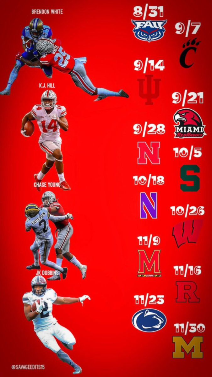 Buckeye Lock Screen 300 By Savage Edits Ohio State Football Schedule Wallpaper Add It To Ohio State Football Schedule Ohio State Ohio State Buckeyes Football