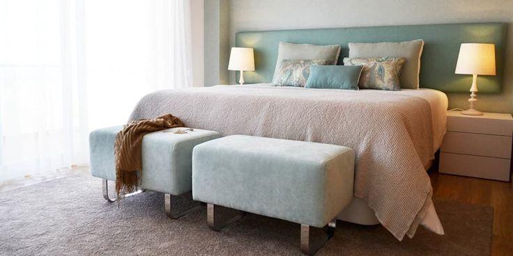 032 | Apartamento, Setúbal: Quartos ecléticos por T2 Arquitectura & Interiores