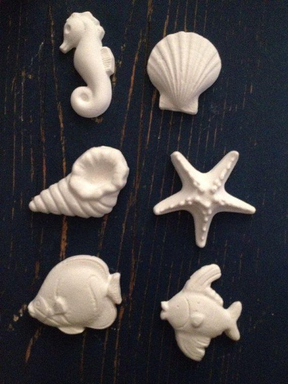 Mare, profumo di mare:  decorazioni marine in argilla  on Etsy, €12,00 ilGiganteelaBambina