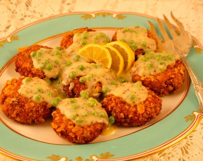 The classic Southern Salmon Croquettes recipe from Miss Mary Bobo's Boarding House in Lynchburg, Tenn. I love these!