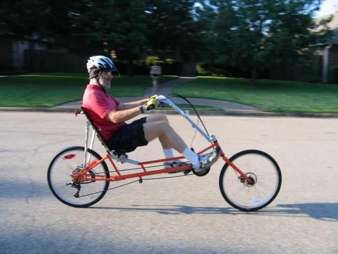 Ranger Recumbent Mountain Bike Recumbent Bicycle Bike Biking Workout