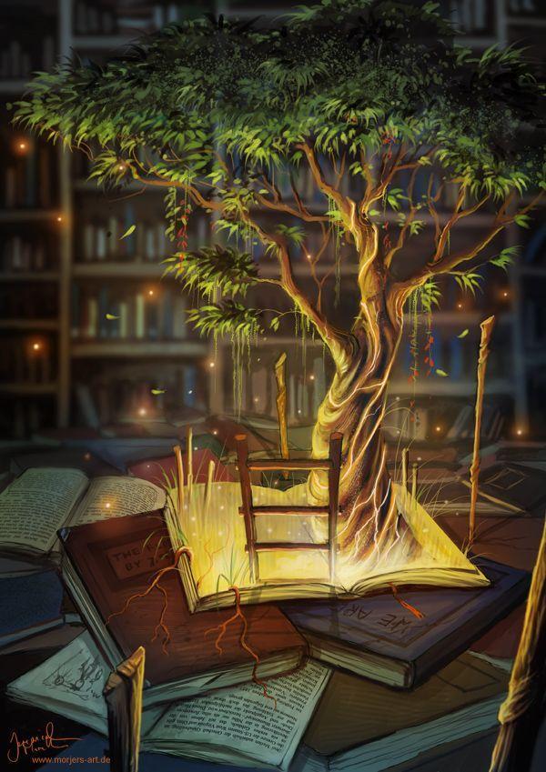 Vá até o topo de uma árvore e leia um livro