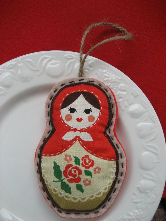 Nesting Doll Russian Matryoshka Babushka Hand