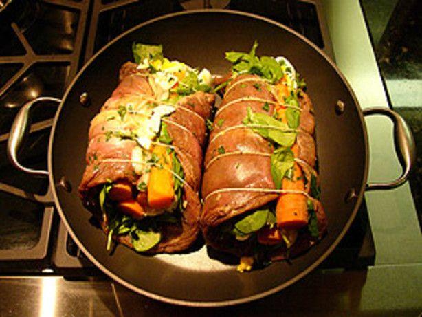 .Matambre - Argentine Rolled, Stuffed Flank Steak