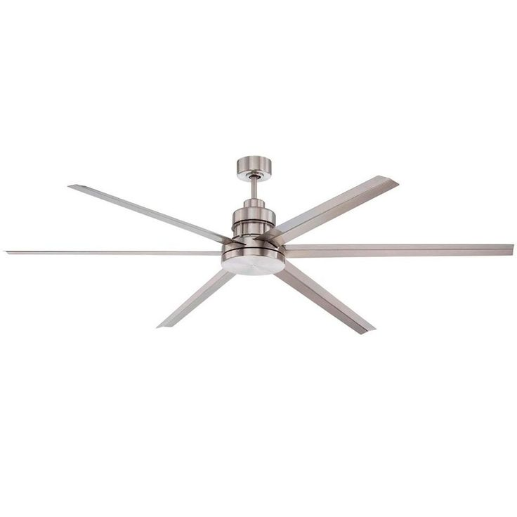"""72"""" Large Modern Ceiling Fan Must be 10' off ground"""