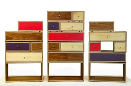 Stack of Drawers by Factor Design