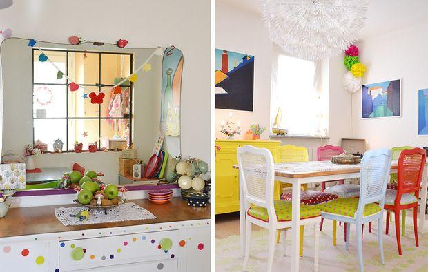 Casinha colorida: Era a casa cheia de alegria...