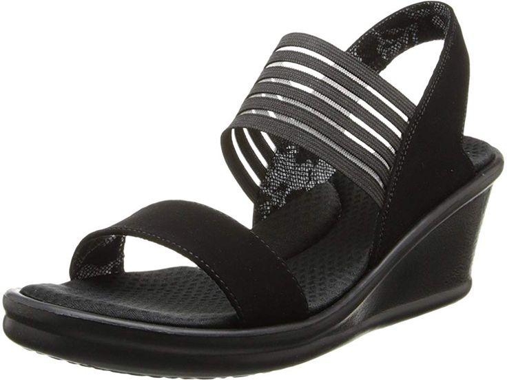 SKECHERS Rumblers Sci Fi Women's Sandals Black | Skechers