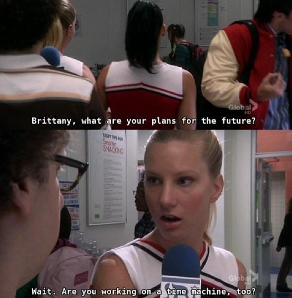Glee britney gay