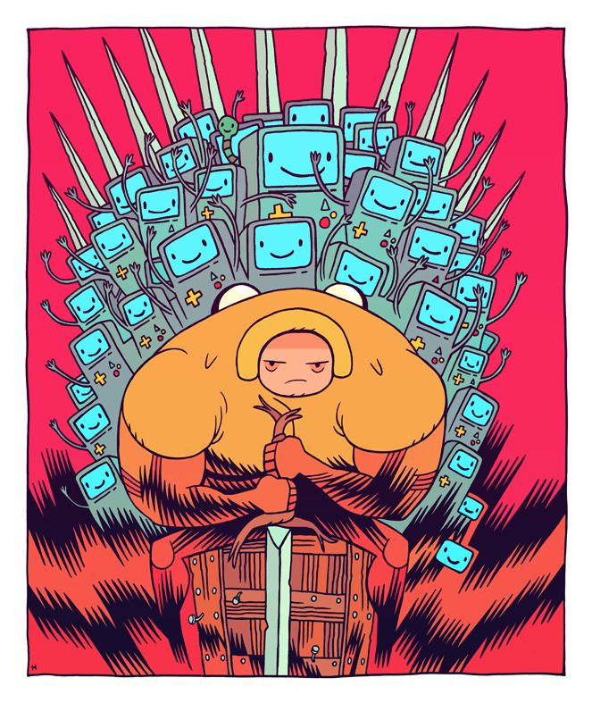 Adventure Time Billys Girlfriend Porn - from Adventure Time! BMO of Thrones