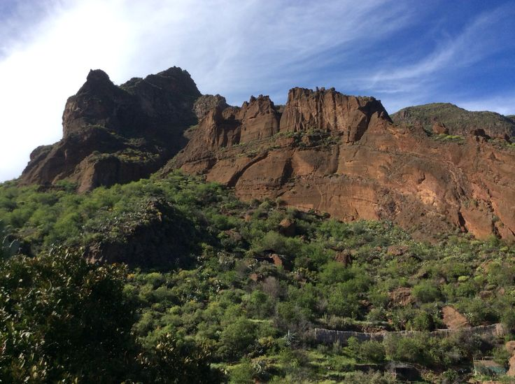 Barranco de guayadeque gran canaria. Fab place to visit cave houses still lived in and may be rented too!