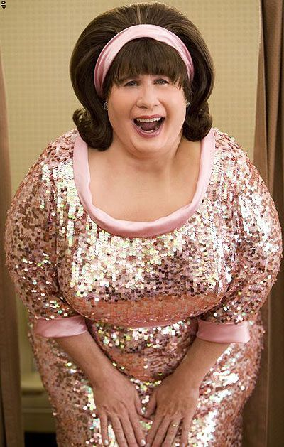 John Travolta in Hairspray...makes me laugh :))