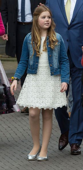 Princess Alexia of The Netherlands attends celebrations marking the 49th birthday of King Willem-Alexander on King's Day on April 27, 2016 in Zwolle, Netherlands.