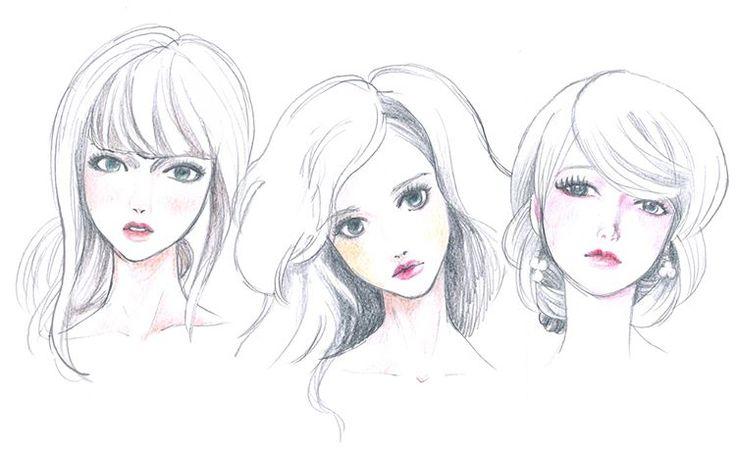 いいね!16件、コメント1件 ― Yoshiko Miyamotoさん(@miyamon58)のInstagramアカウント: 「I love doll's face.  #模写 #人形 #色鉛筆 #study #coloredpencil  #illustration #illustrator」