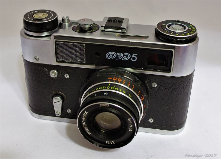 FED 5 (last version) - 35mm rangefinder camera (1977-1990)