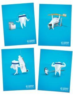 Funny dental flyers #marketing #advert