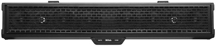 "Boss Audio Systems BRRC27 Boss Audio 500 Watt 27"" Amplified Bluetooth Sound Bar. Bluetooth Audio streaming, wired Bluetooth 4.1 controller, 3.5mm aux-in, USB charging, full-range Class D amplifier. (6) 3"" high power full range speakers + (2) 1"" Horn loaded tweeters, extruded aluminum body with internal heat Dissipating system. Fully Marinized, IPX5 Weatherproof / Dustproof, 500 W max power,. 2V Pre-Amp output to connect multiple sound bar systems together (unlimited), built-in LED dome..."