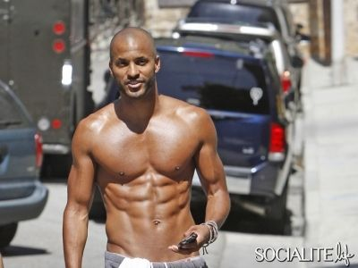 Ricky Whittle.  Trainer
