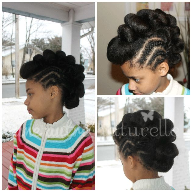 Fantastic 1000 Images About Natural Kids Mohawk Updos On Pinterest Short Hairstyles Gunalazisus