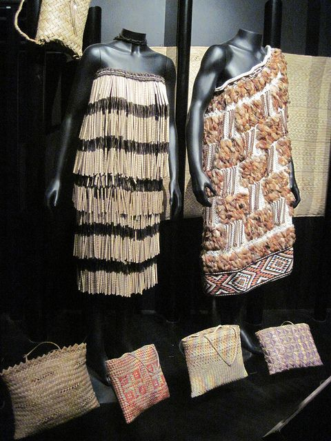 Maori weaving by uwwees, via Flickr