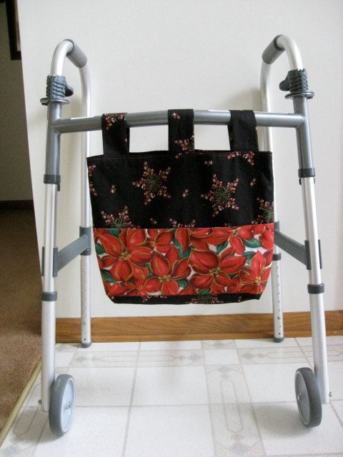 Walker Bag Christmas Made Especially For Purchase By Denise Only Oh Baby Pinterest Bags Sewing And Carry On