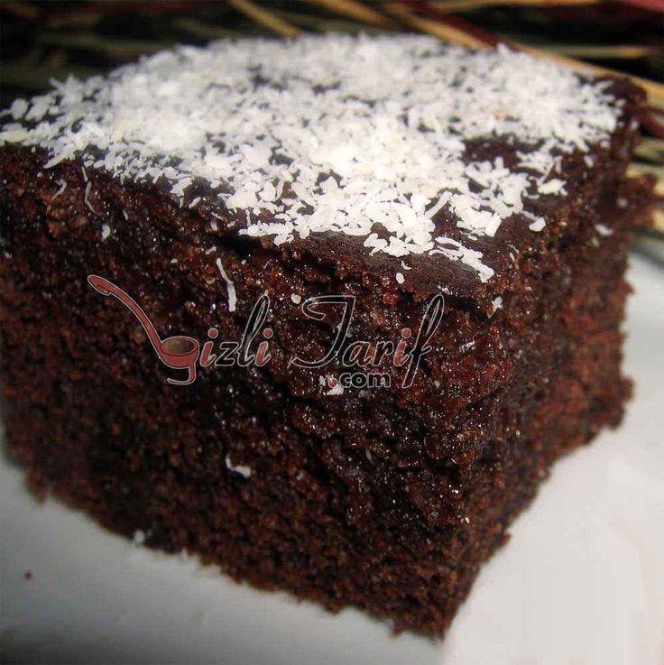 Mikrodalgada 7 dakikada pişen Browni Kek Tarifi. Cidden 7 dakikada pişiyor. Mikrodalga Fırında Browni Kek Tarifi, Islak Kek Tarifi