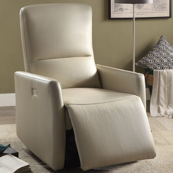 The power recliner offers comfort, style and value for any home. Update your living room furniture with this comfortable, power reclining chair its great for any space and makes it perfect to relax, take a nap or read a book.