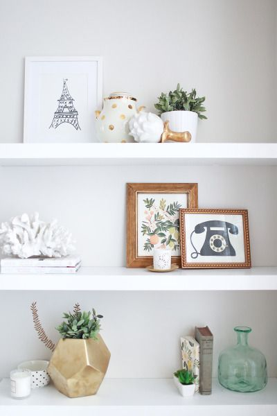 Geometric mini planter: http://www.stylemepretty.com/living/2015/04/22/15-gleaming-gold-accents/