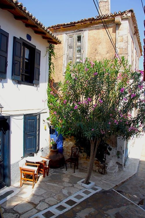 Manolates village - Samos Island, Greece